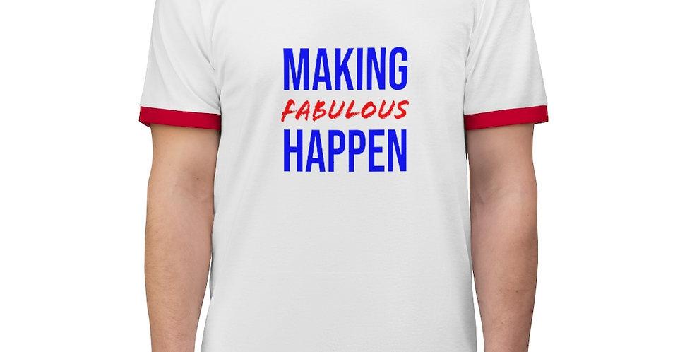 Making Fabulous Happen Ringer tee
