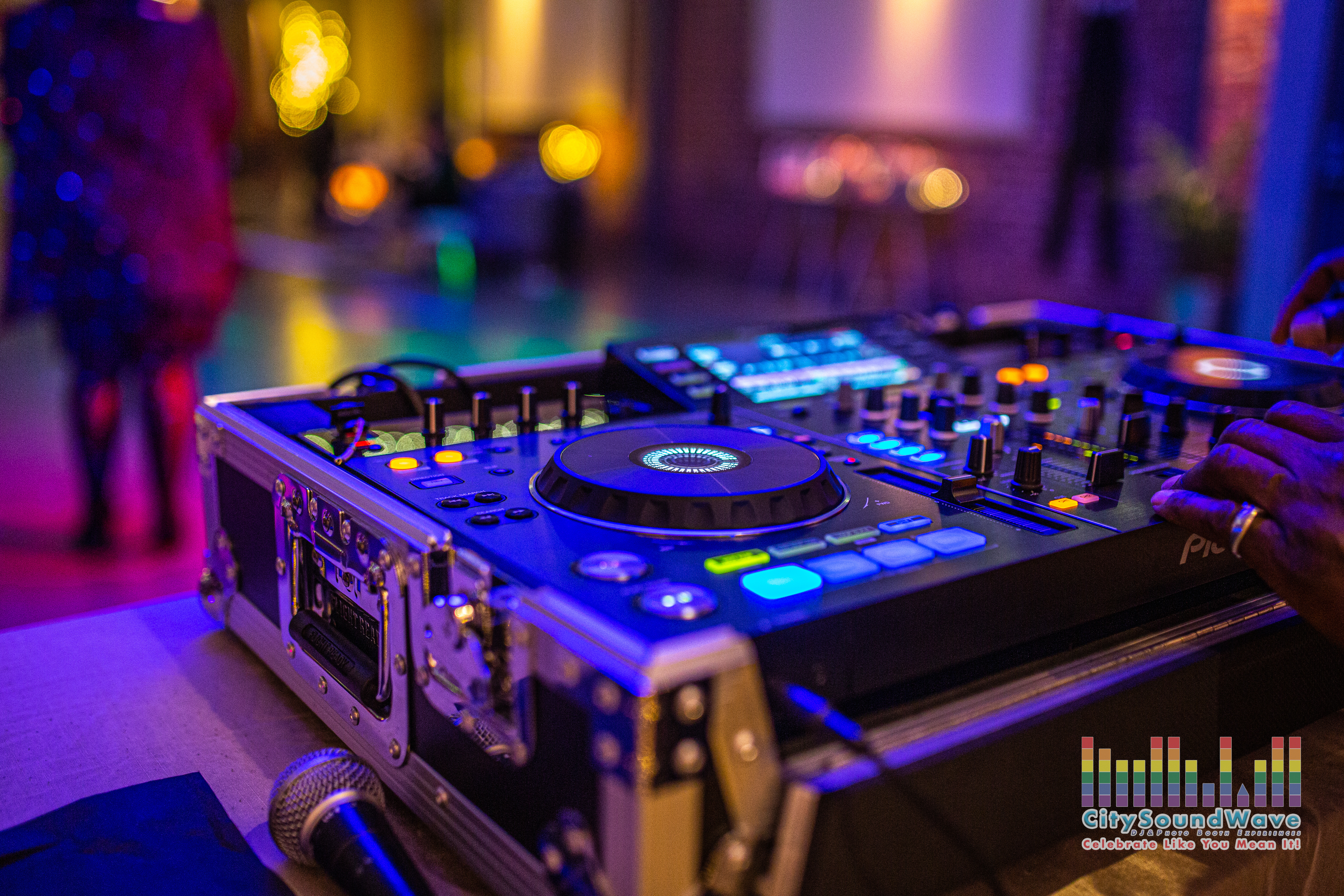 CitySoundWave DJ controller