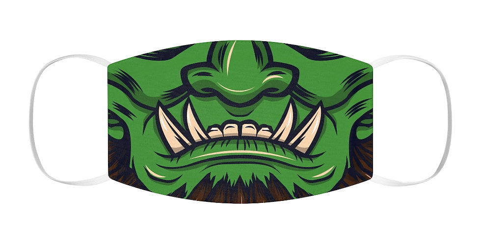 Green Monster Face Cover