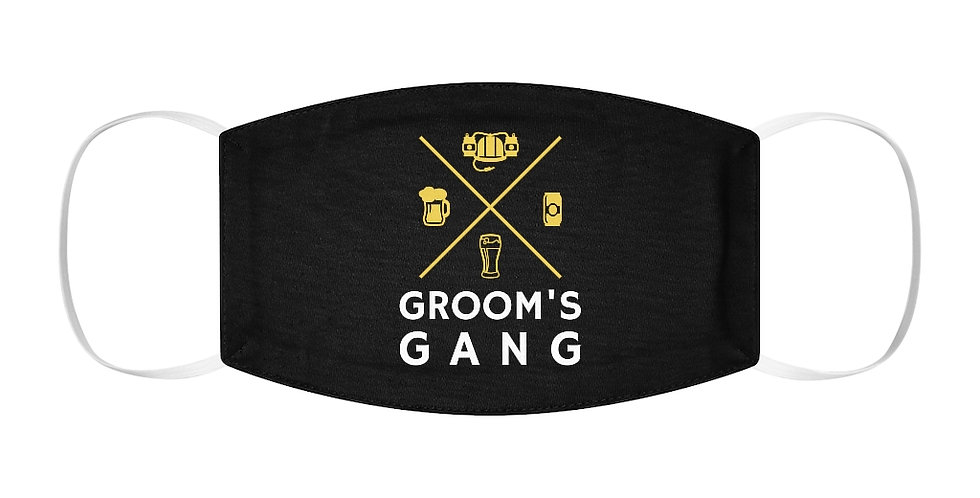 Grooms Gang Face Cover