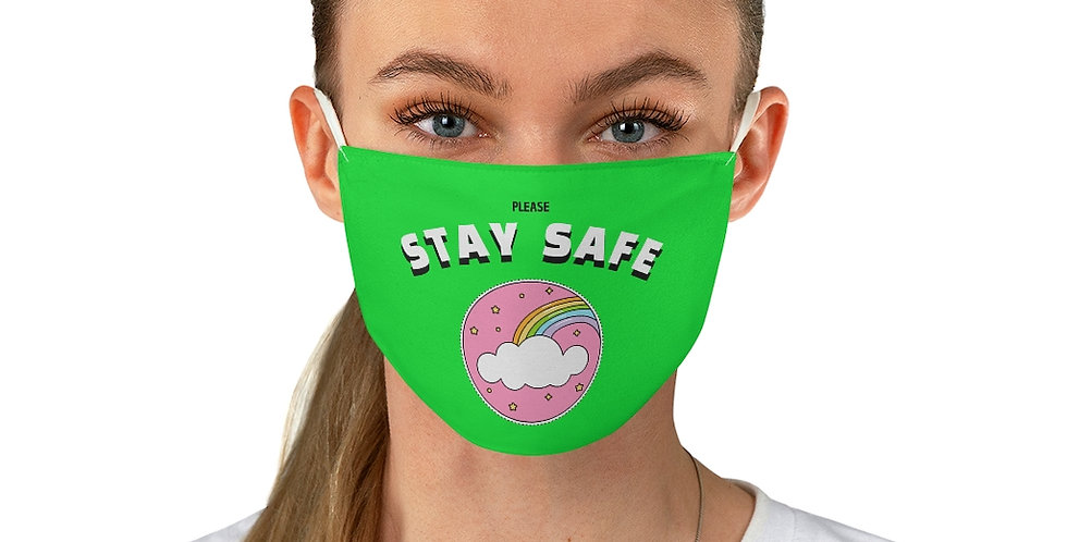 Stay Safe Rainbow Mask