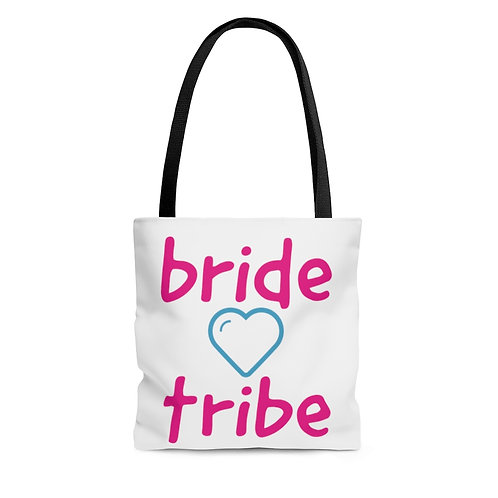 bride heart Tote Bag