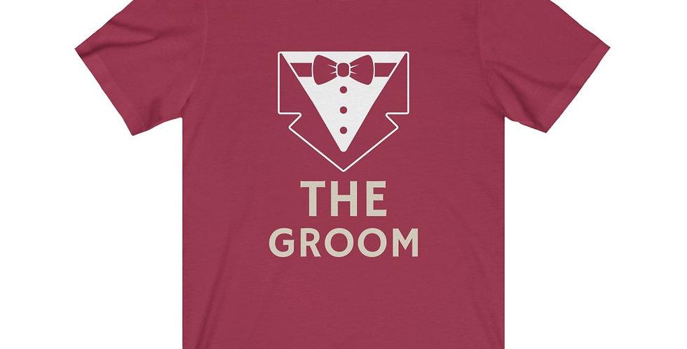 The Groom Bow Tie Tee