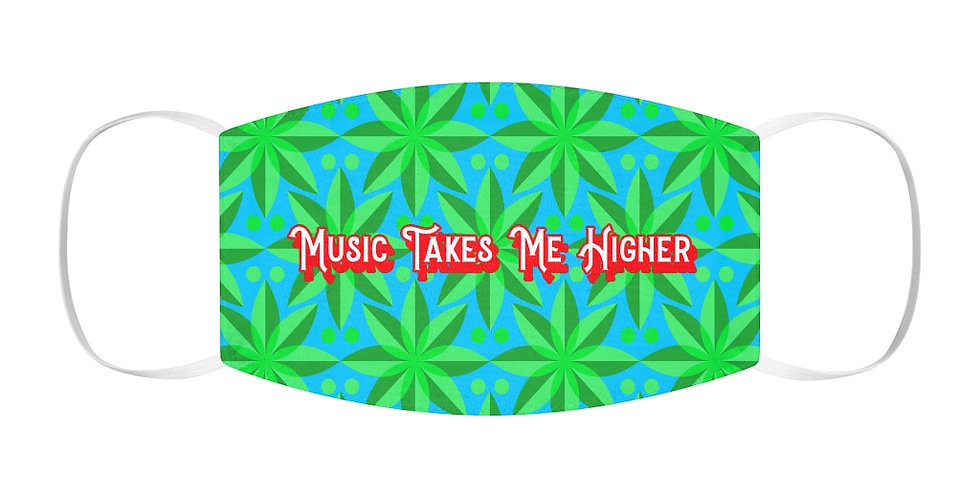 Music Takes Me Higher Face Cover