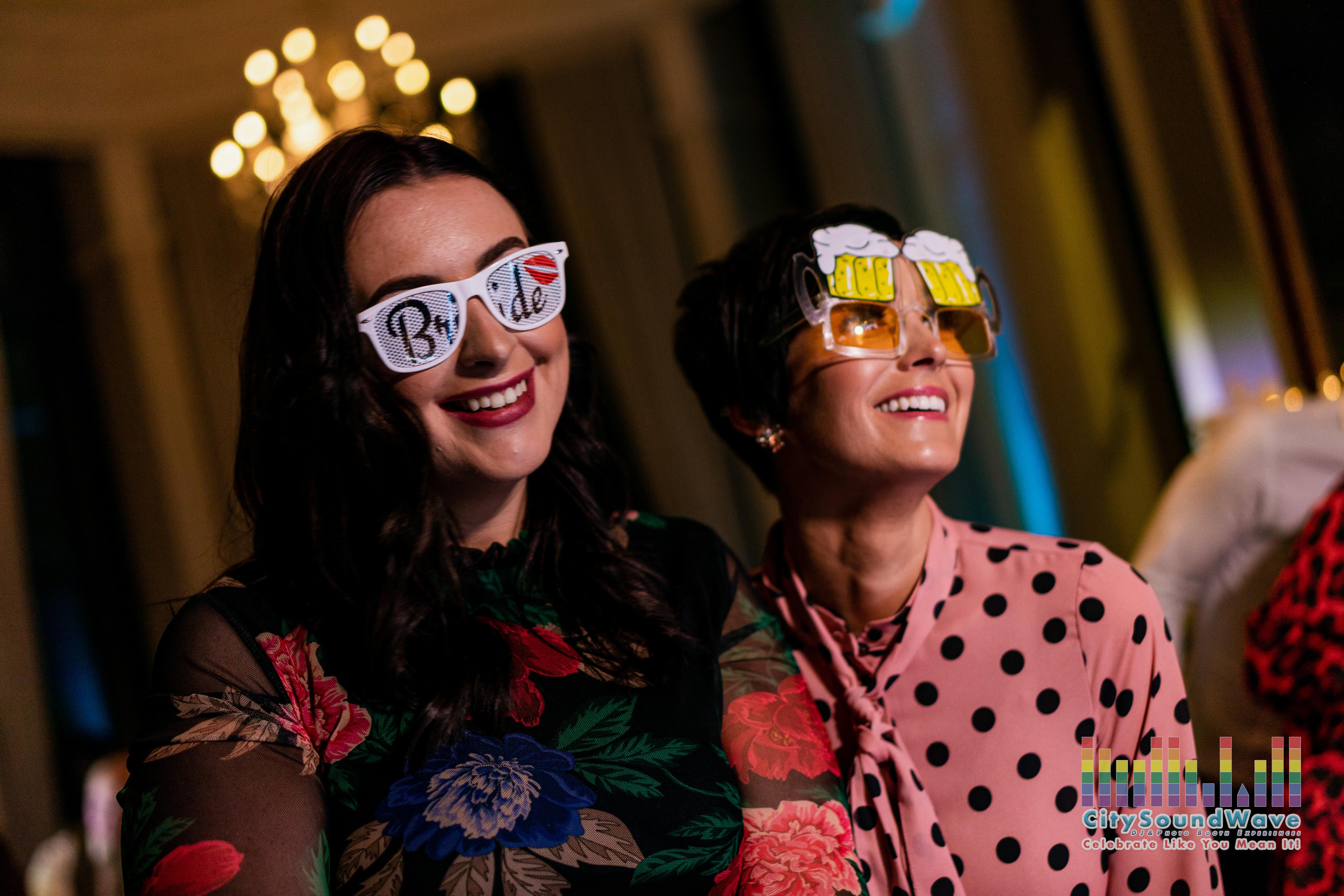 Citysoundwave Bride glasses props