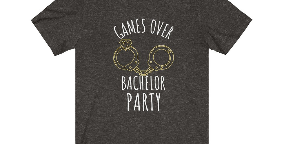 Games Over Cuffs Tee
