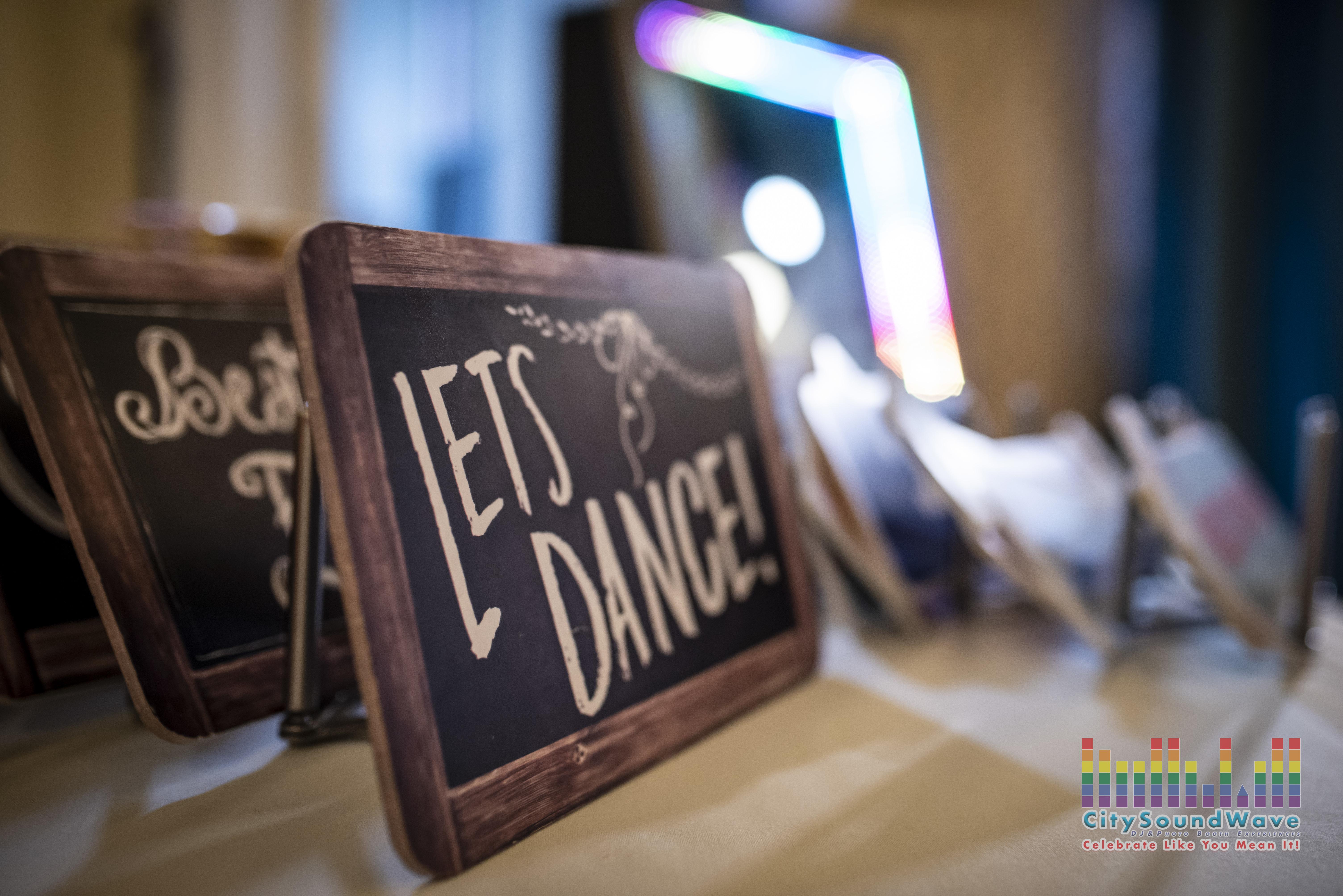 Let's Dance Props