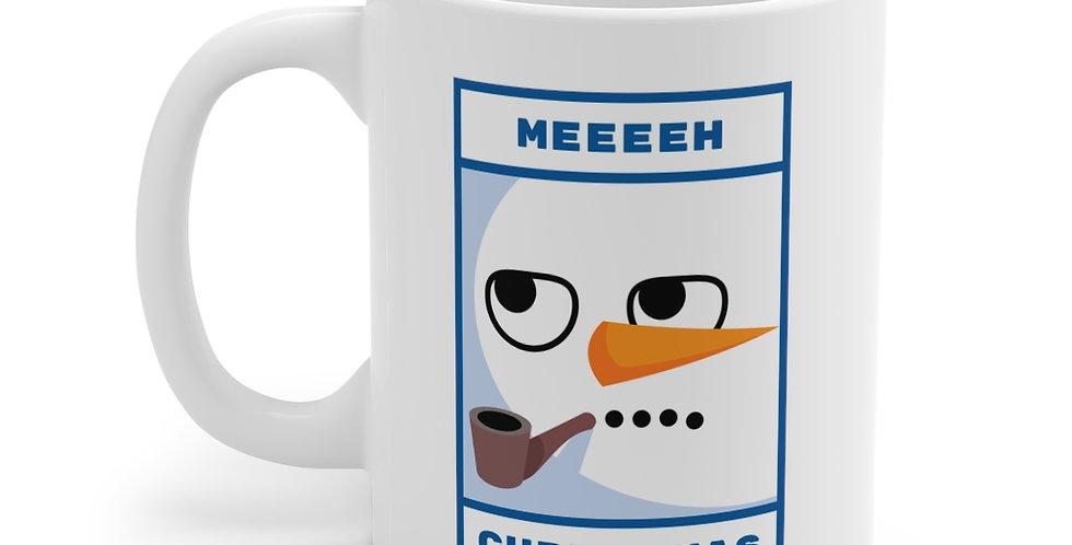 Meeeh Christmas Mug 11oz