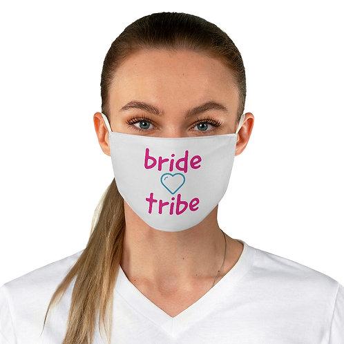 bride tribe heart - Adjustable Face Mask