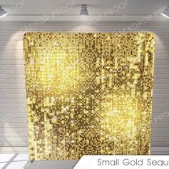 small gold sequins G Pillow.jpg