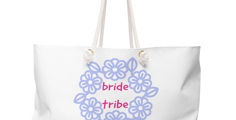 bride tribe Weekender Bag