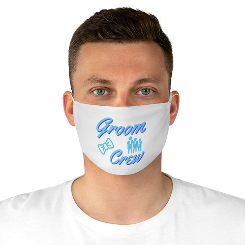Groom Crew - Adjustable Face Mask