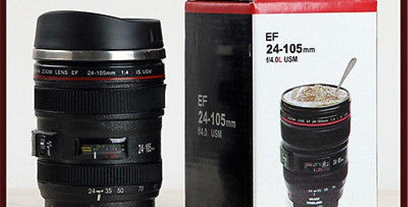 Camera Lens Travel Coffee / Tea Mug