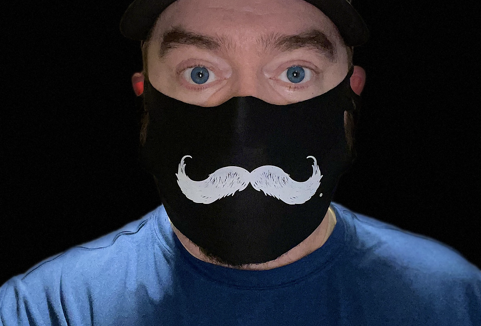 Mustache Face Cover