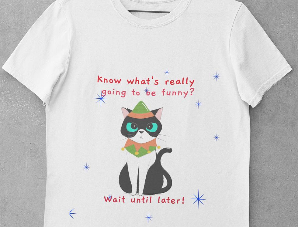 Cat Christmas Tee