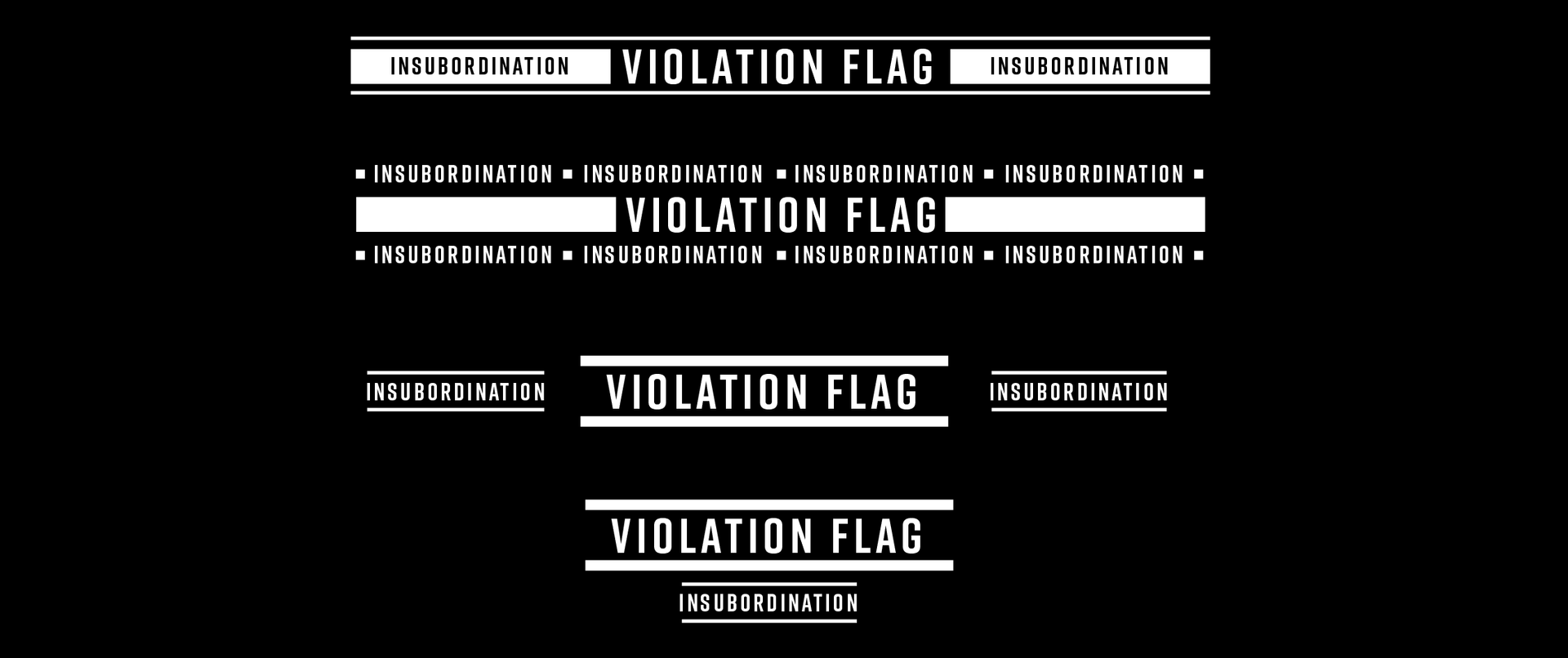 VIOLATION WARNINGS