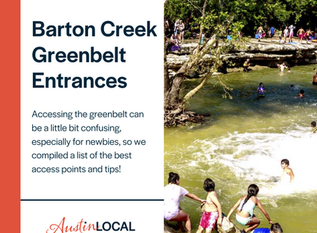How to Access the Barton Creek Greenbelt