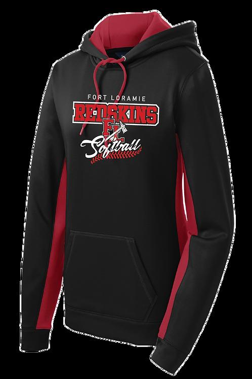 Softball | Colorblock Hooded Sweatshirt