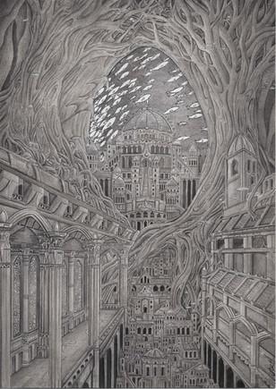 Submerged city