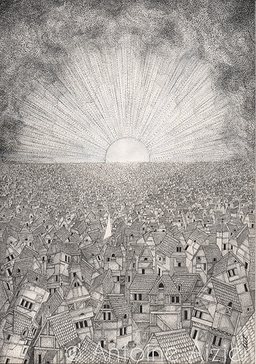 Sea of habitations