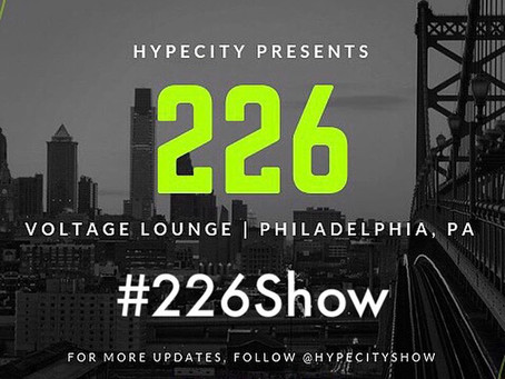 Tonight!!! 2/26 @HypeCityShow Presents: #226Show Live At @VoltagePhilly
