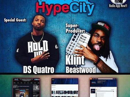 The HypeCity Show: DS Quattro, Klint Beastwood