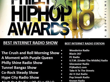 """@HypeCityShowGets Nominated For A """"Philly Hip-Hop Award""""💯💯"""