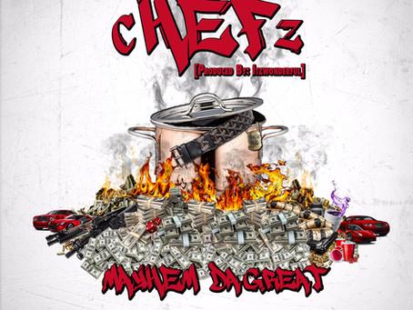 "Philly's Mayhem Da Great Drops His Latest Scorcher ""Chefz"""