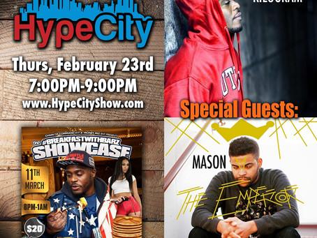 The HypeCity Show: Mason, Kilogram