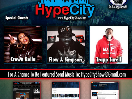 The HypeCity Show: Crown Bella, Flow J. Simpson, Trapp Tarrell, Rican Bull