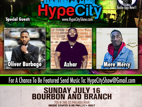 The HypeCity Show: Oliver Burbage & Mere Mercy