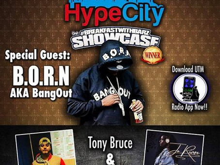 The HypeCity Show: Jo Rivers, Tony Bruce, Bangout (B.O.R.N.)