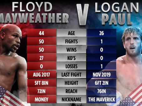Mayweather vs Logan Paul - June 6th