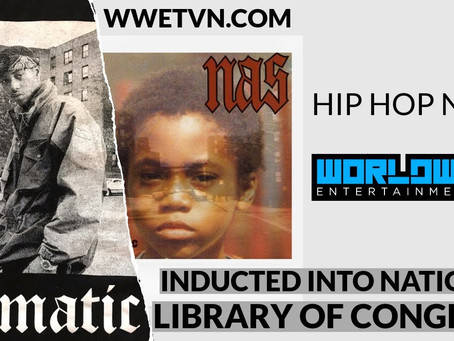 NAS ILLMATIC TO BE INDUCTED INTO THE LIBRARY OF CONGRESS