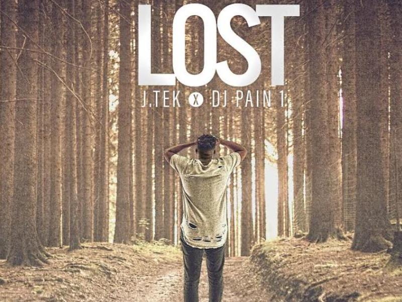 J. tek - Lost EP Album Cover