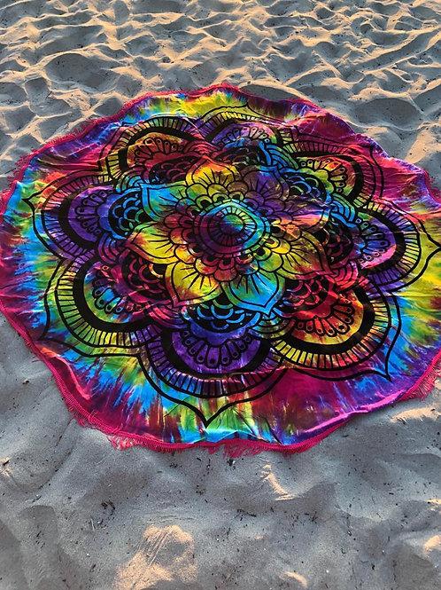 Mándala Flor Multicolor (Pareo - Redondo)