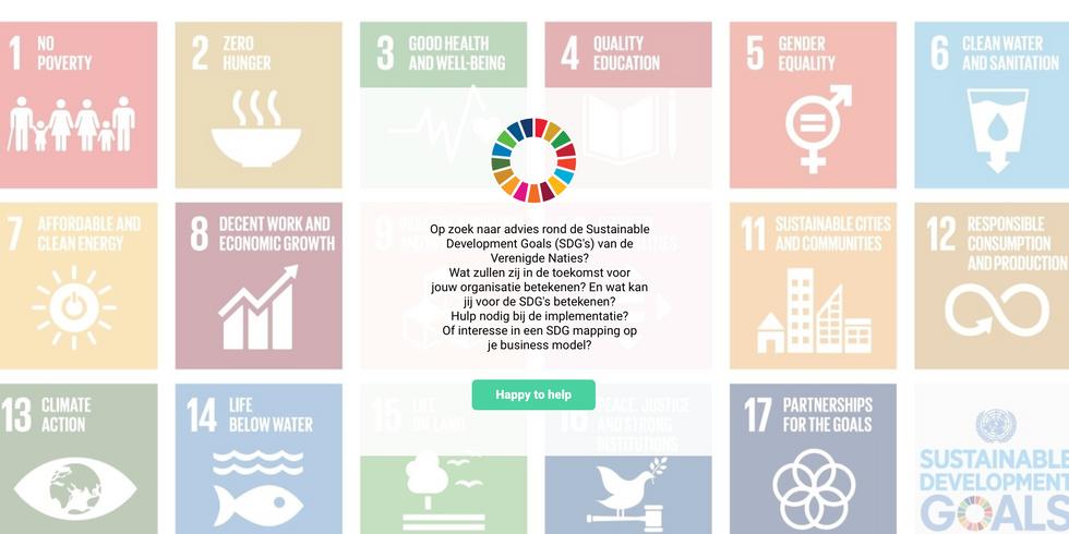 SDG web design