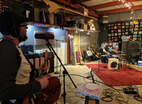 Hitting The Studio