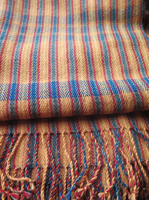 Worsted Wool Scarf/Shawl