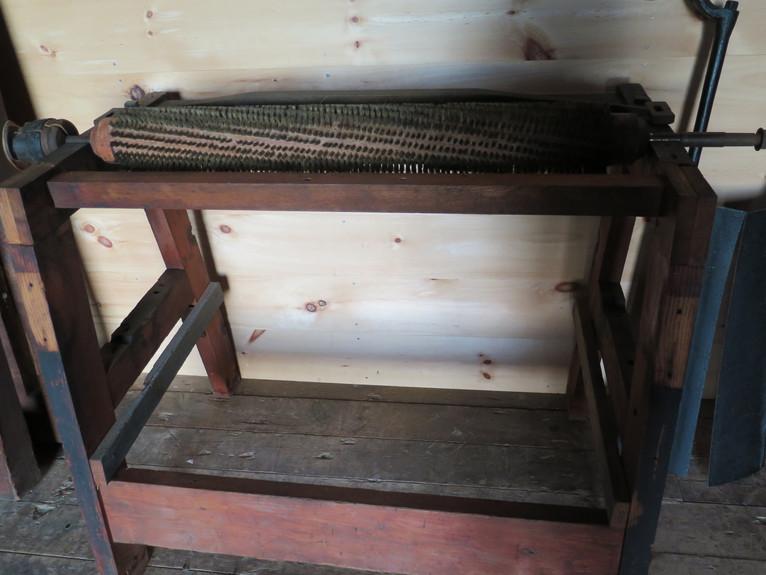 Napping & Shearing Machine.