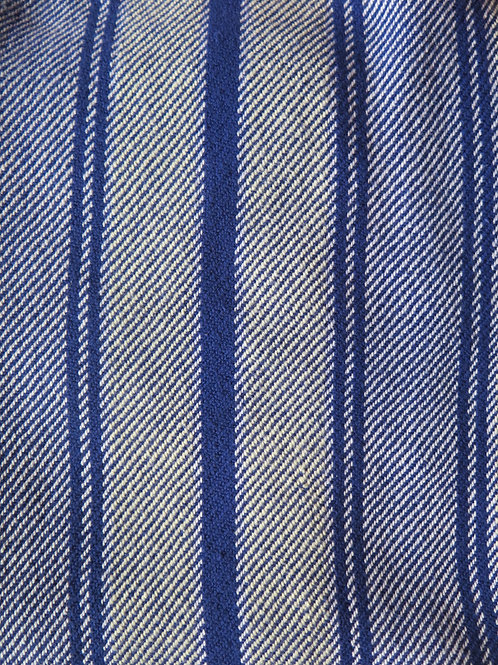 Blue & Yellow Stripe Dishtowel