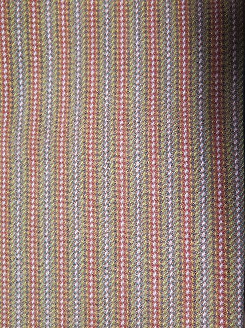 Sage & Rust Stripe Disthowel