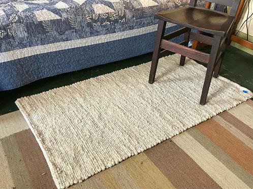Bobolink Farm Wool Rugs - Natural w/Hem