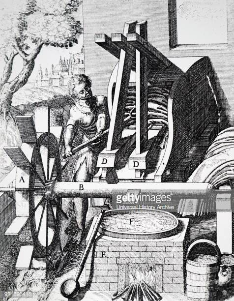 Period Image of a Fulling Operation
