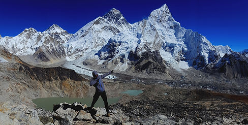 Treking Nepal - pod Everest