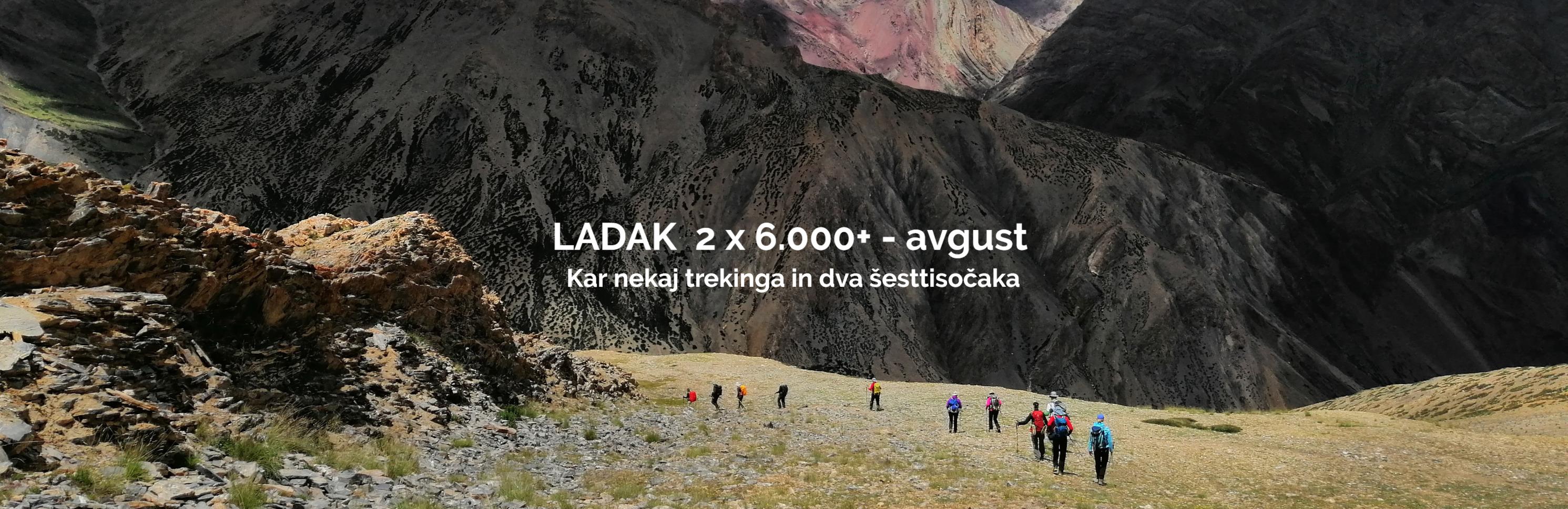 Dzamdzam - treking Ladak