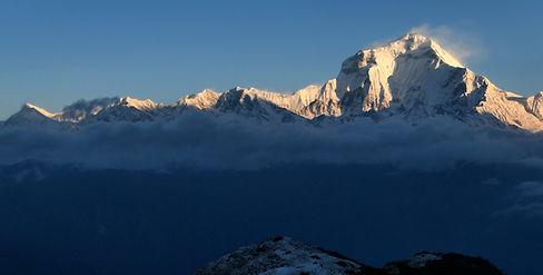 Treking Nepal - greben Kopre