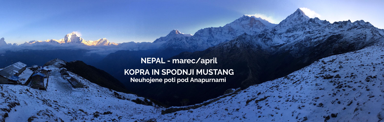 Dzamdzam - treking Kopra, Mustang, Nepal