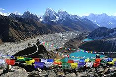 Treking Everest, Nepal: Gokyo ri view