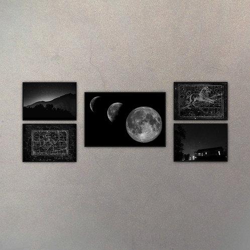 Combo Astronomía II (5 Cuadros)